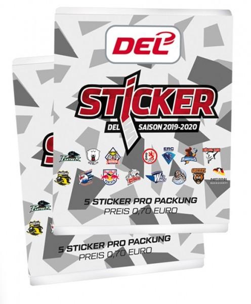 """DEL - Deutsche Eishockey Liga 19/20 """"Sticker"""" - Stickertüte ( 5 Sticker )"""
