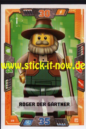 Lego Nexo Knights Trading Cards - Serie 2 (2017) - Nr. 29