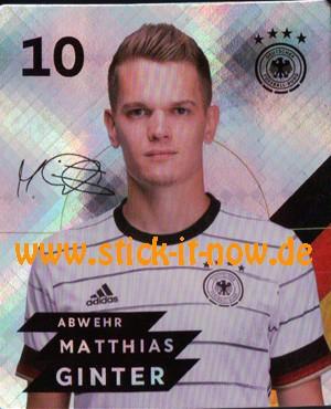 Rewe DFB Sammelkarten EM 2020 - Nr. 10 (Glitzer)