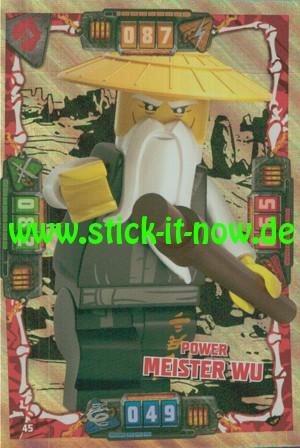 Lego Ninjago Trading Cards - SERIE 4 (2019) - Nr. 45 ( Holofolie )