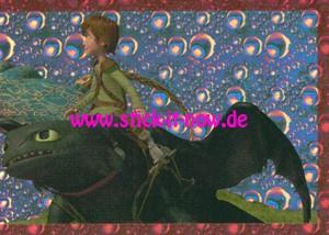 """Dragons 3 """"Die geheime Welt"""" (2019) - Nr. 51 (Glitzer)"""