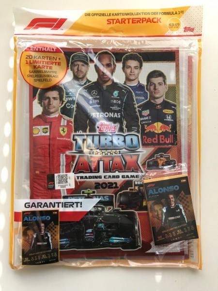 "Turbo Attax ""Formel 1"" (2021) - Starter-Set"