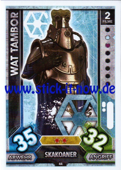 Topps Star Wars FORCE ATTAX UNIVERSE (2017) - Nr. 44