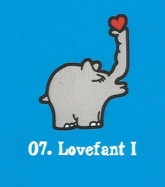 Edeka Ottifanten (2020) - Nr. 7 Lovefant I