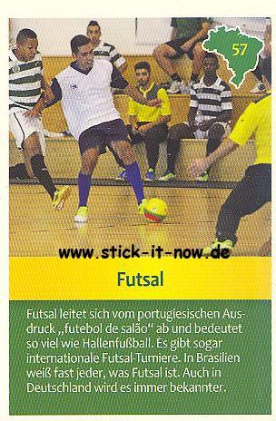Edeka & WWF - Entdecke Brasilien - Sammelkarte - Nr. 57