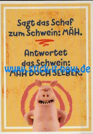 """Aldi Nord - Shaun das Schaf """"Sticker"""" - Nr. 101"""
