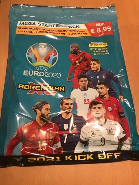UEFA EURO 2020 Adrenalyn XL Kick Off (2021) - Starter-Set