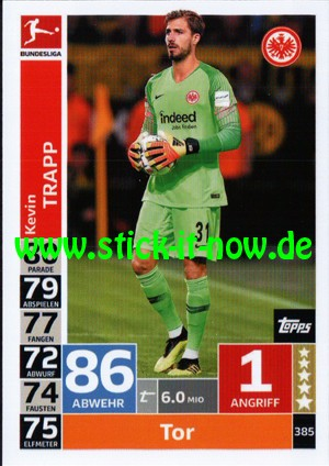 "Topps Match Attax Bundesliga 18/19 ""Action"" - Nr. 385"
