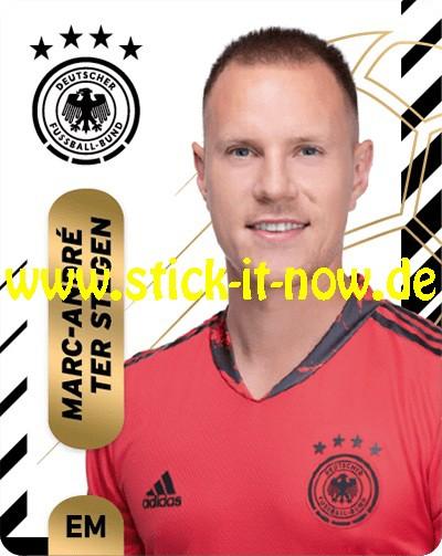 """Ferrero Team Sticker EM 2020 (2021) - """"Portrait"""" Nr. 2 ( Ter Stegen )"""