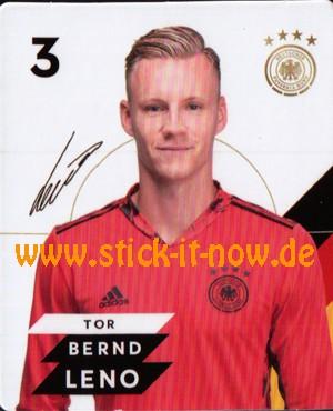 Rewe DFB Sammelkarten EM 2020 - Bernd Leno - Nr. 3