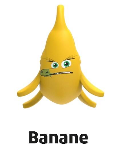"""Penny Monster-Sammelfiguren - Nr. 15 """"Banane"""""""