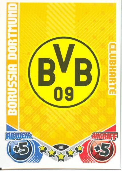 Match Attax 11/12 - Bor.Dortmund - Clubkarte