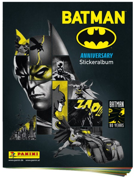 """80 Jahre Batman """"Anniversary"""" (2019) - Stickeralbum"""