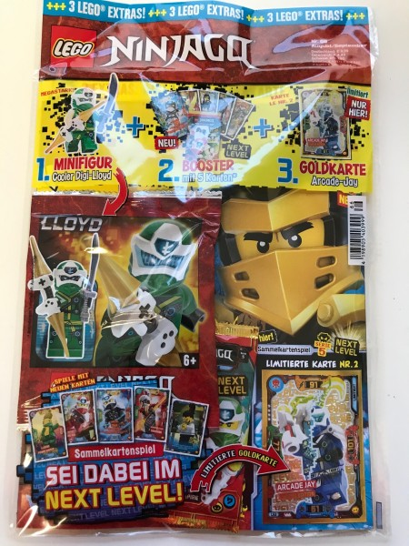 "Lego Ninjago Magazin Nr. 66 (mit Lego Figur & LE 2 ""Next Level"")"