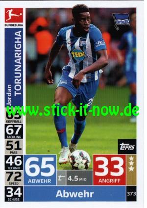 "Topps Match Attax Bundesliga 18/19 ""Action"" - Nr. 373"
