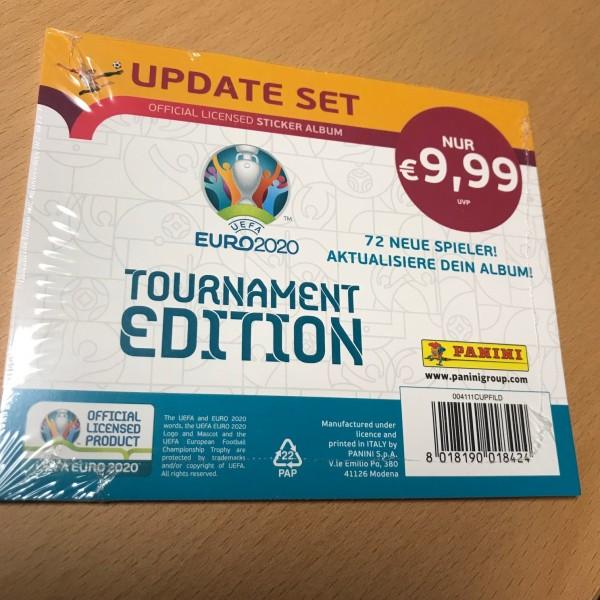 Panini UEFA EM 2020 Tournament Edition (2021) - Update Set