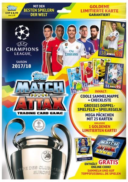 Match Attax Champions League 17/18 - Starter-Set