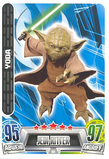 Force Attax Movie Collection - Serie 2 - YODA - Nr. 88