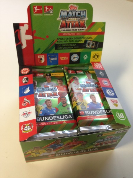 Topps Match Attax Bundesliga 2020/21 - Display ( 50 Booster )