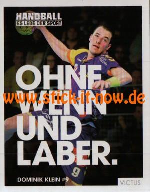 DKB Handball Bundesliga Sticker 17/18 - Nr. 1