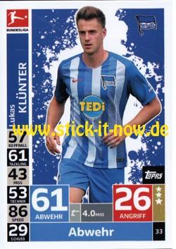 Topps Match Attax Bundesliga 18/19 - Nr. 33
