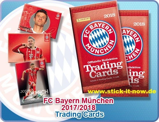 FC BAYERN MÜNCHEN - Trading Cards - 2018 - 1 Display (24 Booster)