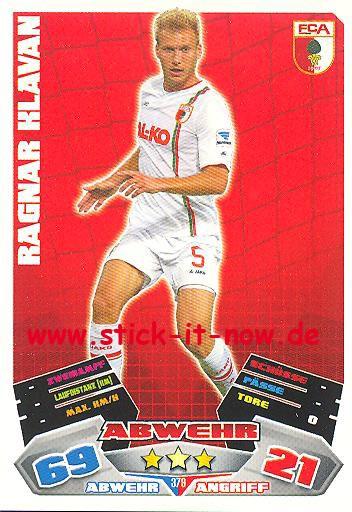 Match Attax 12/13 EXTRA - Ragnar Klavan - FC Augsburg - Nr. 379