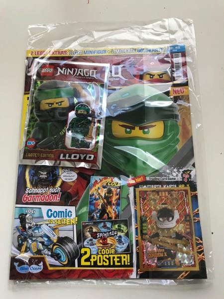Lego Ninjago Magazin Nr. 49 (mit Lego Figur und LE7)