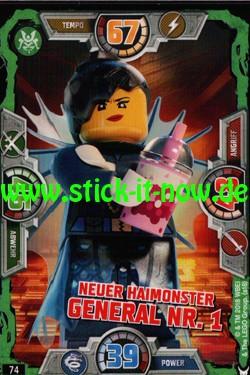 Lego Ninjago Trading Cards - SERIE 3 (2018) - Nr. 74