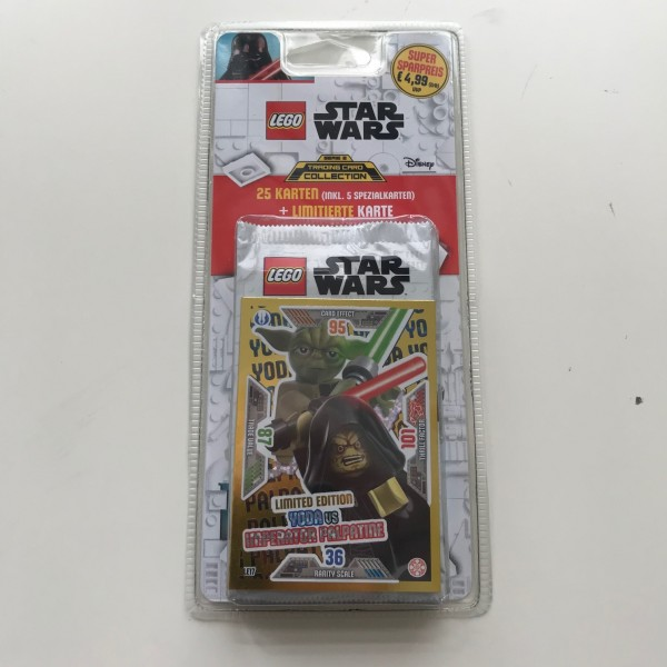 Lego Star Wars Trading Card Collection 2 (2019) - Blister 1 ( LE 17 )