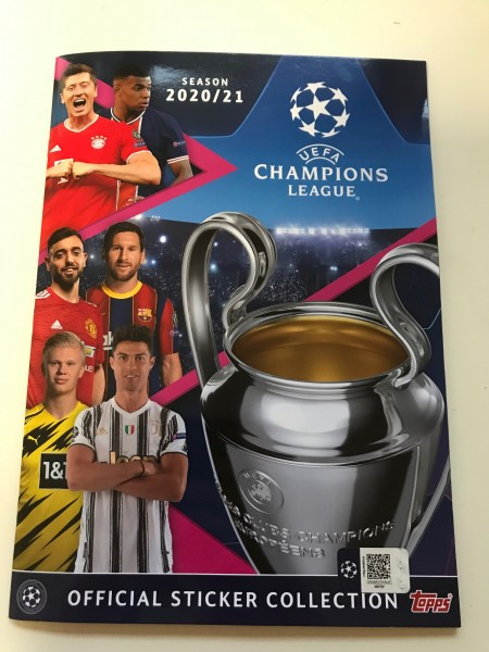 "Champions League 2020/2021 ""Sticker"" - Stickeralbum"