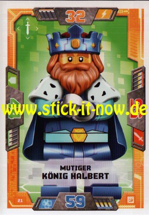 Lego Nexo Knights Trading Cards - Serie 2 (2017) - Nr. 21