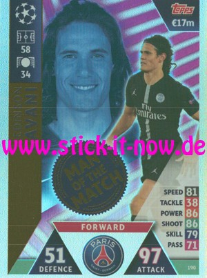 "Match Attax CL 18/19 ""Road to Madrid"" - Nr. 190"