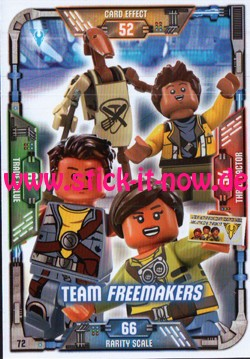 Lego Star Wars Trading Card Collection (2018) - Nr. 72