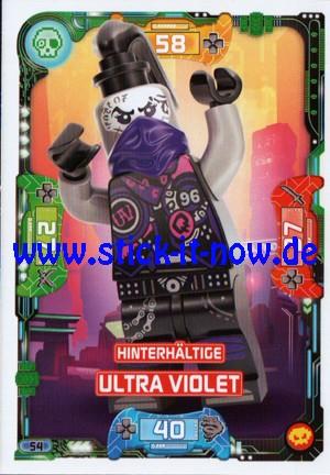 "Lego Ninjago Trading Cards - SERIE 5 ""Next Level"" (2020) - Nr. 54"