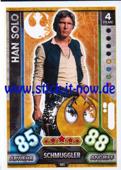 Topps Star Wars FORCE ATTAX UNIVERSE (2017) - Nr. 101