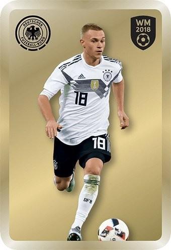Ferrero DFB Team Cards WM 2018 - Joshua KIMMICH - (Limited Edition)