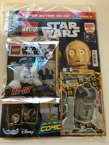 Lego Star Wars Magazin Nr. 57 (mit Lego Set und XXL LE5 )