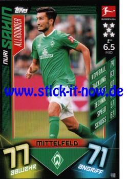 "Topps Match Attax Bundesliga 2019/20 ""Action"" - Nr. 490"