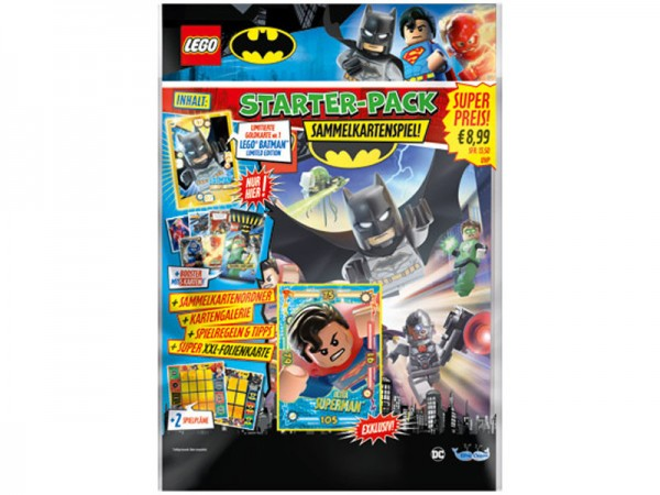 Lego Batman Trading Cards (2019) - Starter-Set