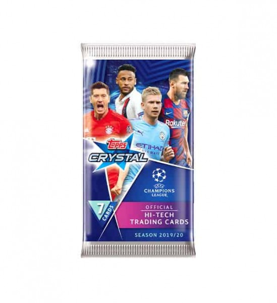 Champions League Crystal 2019/20 - Booster ( 7 Karten )