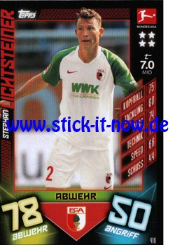 "Topps Match Attax Bundesliga 2019/20 ""Action"" - Nr. 416"