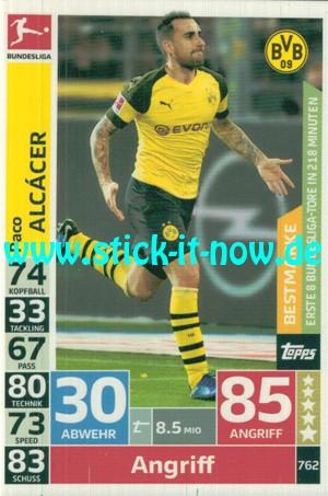 """Topps Match Attax Bundesliga 18/19 """"Extra"""" - Nr. 762"""