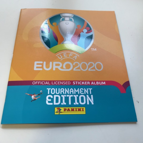 Panini UEFA EM 2020 Tournament Edition (2021) - Stickeralbum