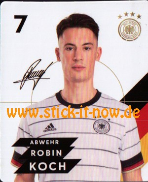 Rewe DFB Sammelkarten EM 2020 - Robin Koch - Nr. 7