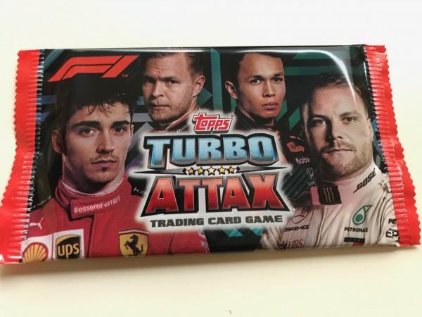 """Turbo Attax """"Formel 1"""" (2020) - Booster"""