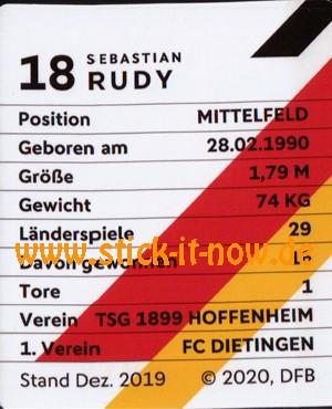 Rewe DFB Sammelkarten EM 2020 - Nr. 17 (Glitzer)