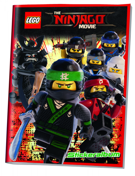 LEGO Ninjago Movie Sticker (2017) - Stickeralbum
