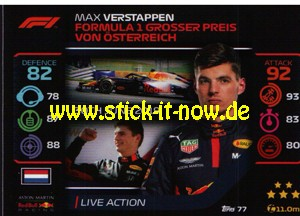 "Turbo Attax ""Formel 1"" (2020) - Nr. 77"