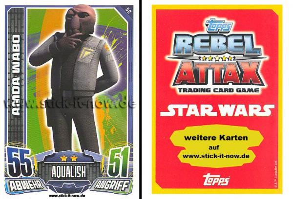 Rebel Attax - Serie 1 (2015) - AMDA WABO - Nr. 52